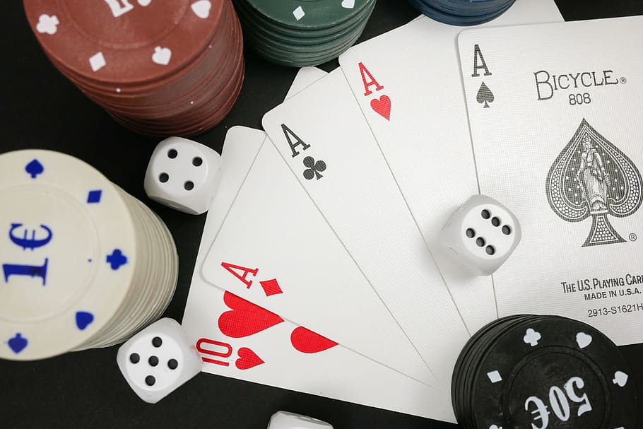 Playing Poker Idn: The Nature Of Online Poker Games