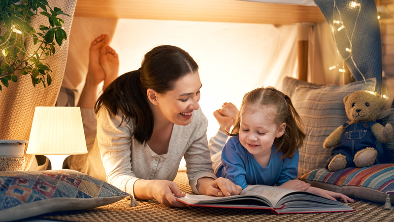 Why are Bedtime Stories Important to Children?